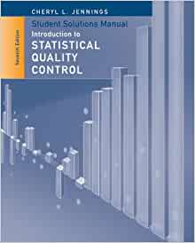 montgomery statistical quality control solution manual