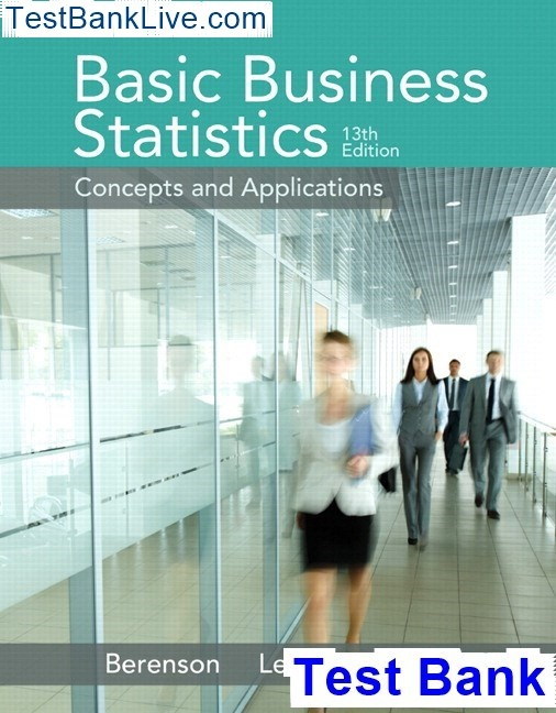 student solutions manual for basic business statistics 13th edition pdf