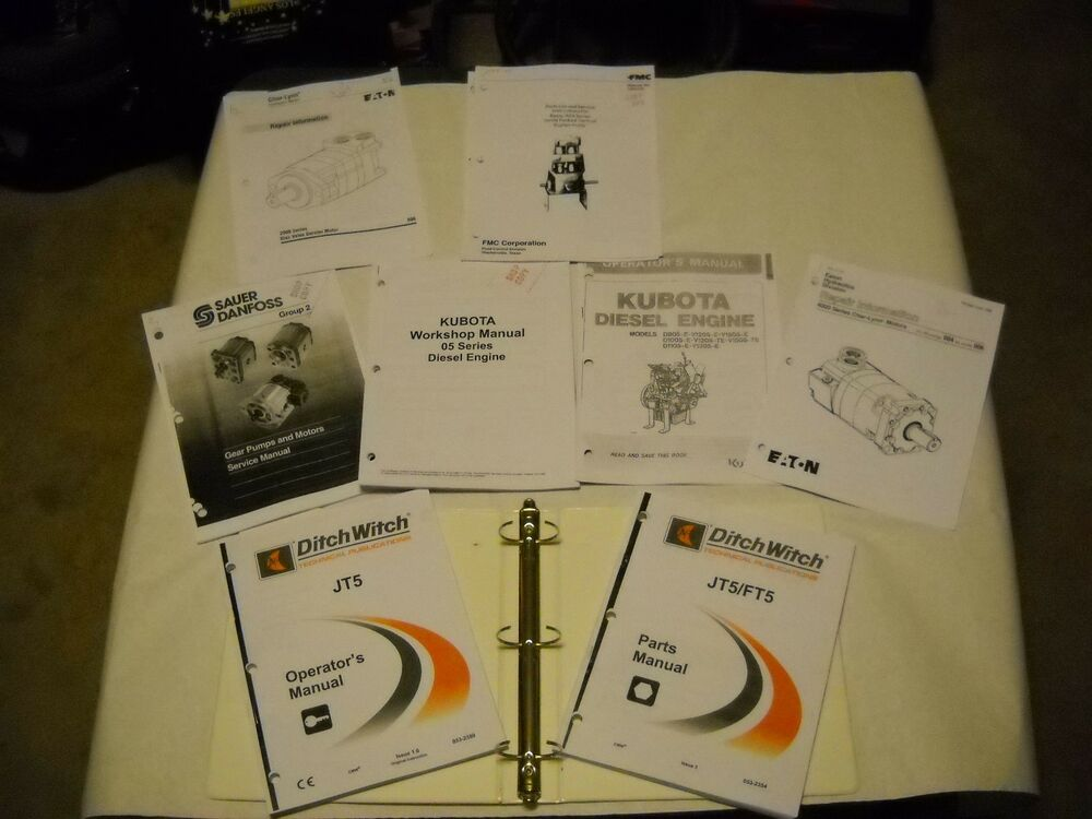 ditch witch jt30 parts manual