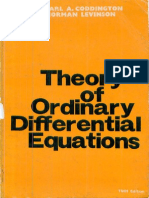 an introduction to ordinary differential equations coddington solutions manual